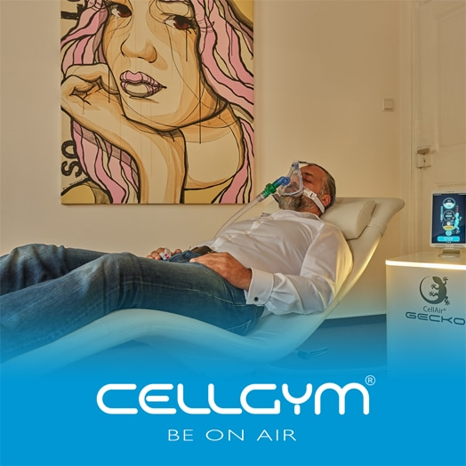 CellAir Gecko Cellgym Zelltraining Mitochondrien
