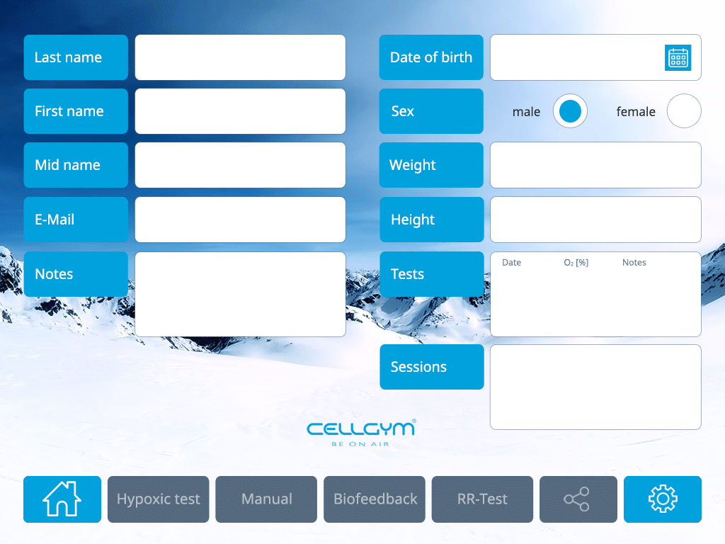 Cellgym CellAir One 2.0 New User 1024x768 n